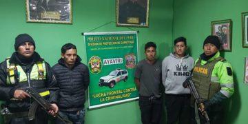 Banda criminal, Los Mladitos de Abancay_ fueron detenidos.