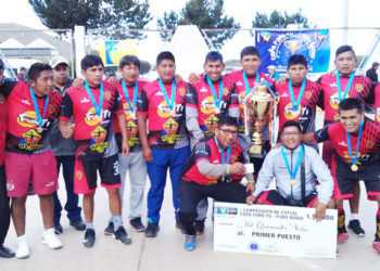 Pesadilla Porteño alzó el título del torneo de campeones.