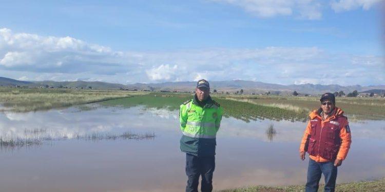 Cultivos fueron afectados por las fuertes lluvias que se registraron.