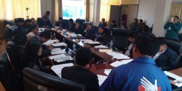 Sesión de Consejo Regional aprobó acuerdo regional para prevenir sancionar y erradicar la violencia contra la mujer.