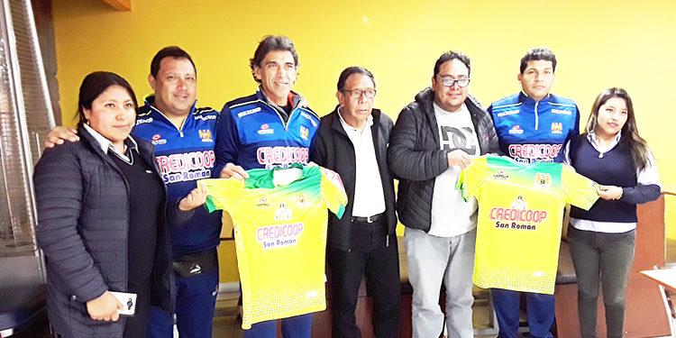 Directivos del cuadro Credicoop San Román temporada 2020.