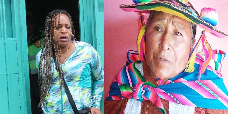 Dayana Salazar Tuledano, fue quien agredió a la humilde madre de familia.