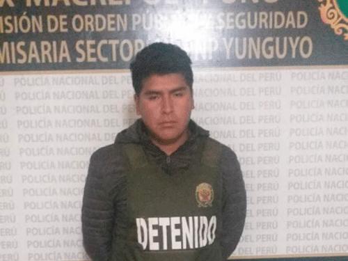 Depravado sujeto denunciado por violar a menor quedó en calidad de detenido.