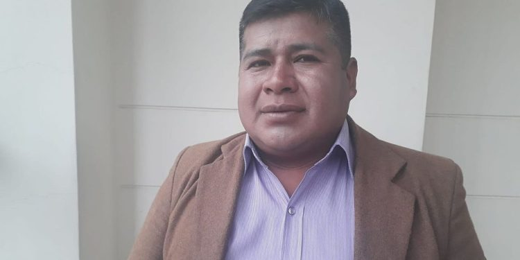 Dirigente de FOP, Amador Nuñez.