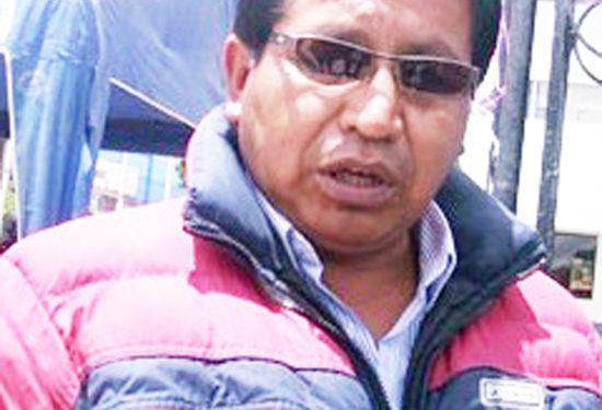 Dirigente, Roger Huacani Payé, dijo que en marzo acatarán un paro preventivo de 48 horas contra el gobierno regional y nacional.