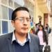 El presidente de  la Federación Regional-de Folklore y Cultura de Puno, Jorge Ramo Loayza.