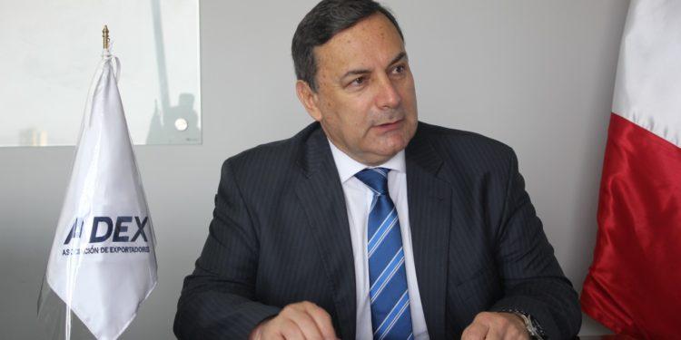 Erik Fischer Llanos, Presidente del gremio empresarial ADEX.