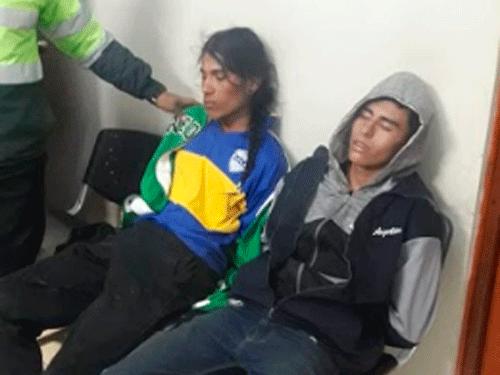 Extranjero atacaron a turista en Puno.