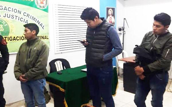 Hasta ayer continuaban detenidos en la Areincri pasando diversas diligencias.