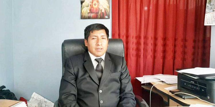Gerente de Transportes y Seguridad Vial, Nestor Tipula Quispe.