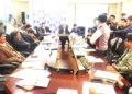 Gobernador Agustin Luque, de manera sorpresiva apareció en el pleno de la sesión extraordinaria del consejo regional.