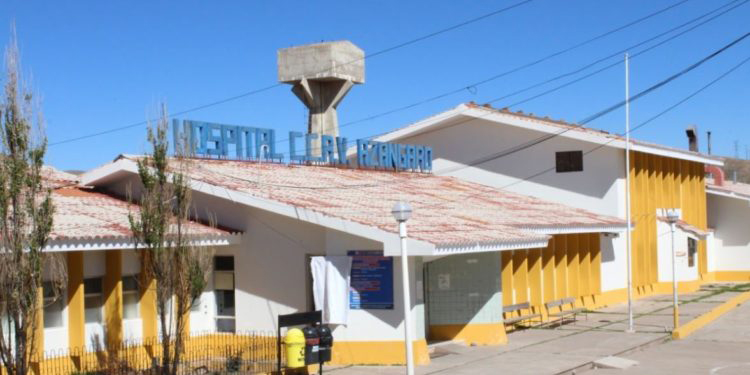 Hospital bajaron de categoría de 2 I a I4 al Hospital Carlos Cornejo Roselló de la provincia de Azángaro.