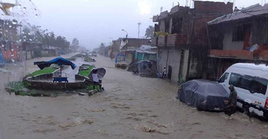 Intensas Precipitaciones Pluviales en San Gabán.