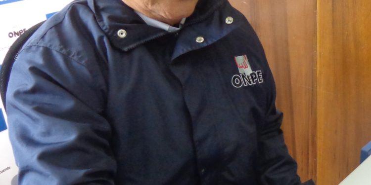 Jaime Pérez Rivas, jefe de la ODPE Puno.