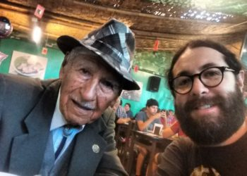 Jospani y Christian Reynoso, en Lima 2018.