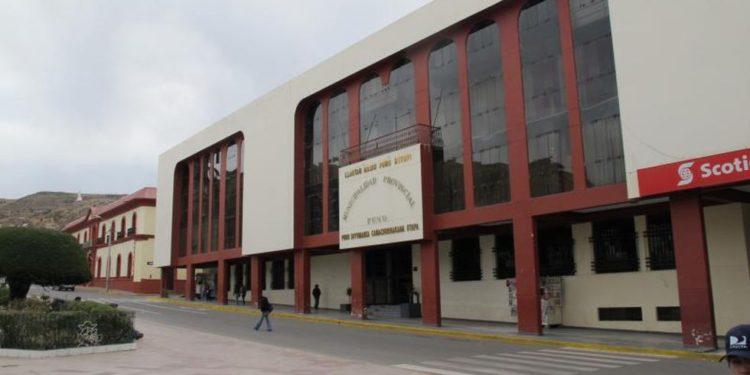 Municipalidad Provincial de Puno.