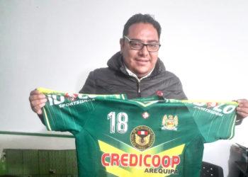 Martin Castillo Villalva, presidente de Credicoop.