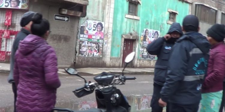 Motociclista tuvo que ser evacuado al hospital de Juliaca.