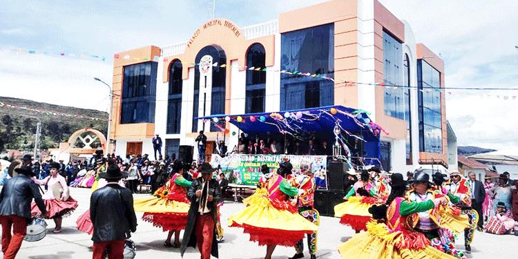 Municipalidad Distrital de Tinicachi con solo 514 mil 294 soles de PIA.