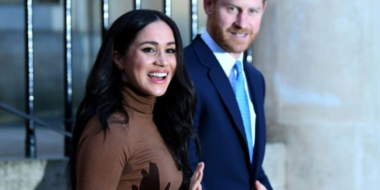 """""""A partir de ahora queremos equilibrar nuestro tiempo entre el Reino Unido y Norteamérica"""", señalaron los duques de Sussex en un comunicado (AFP)."""