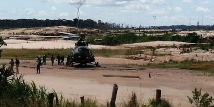 El 3 de enero se efectuó una interdicción cerca del puesto de control Otorongo, en Madre de Dios, como parte del operativo Mercurio 2019 (Andina).
