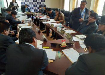 Pleno del Consejo Aprobó concurso CAS universal.
