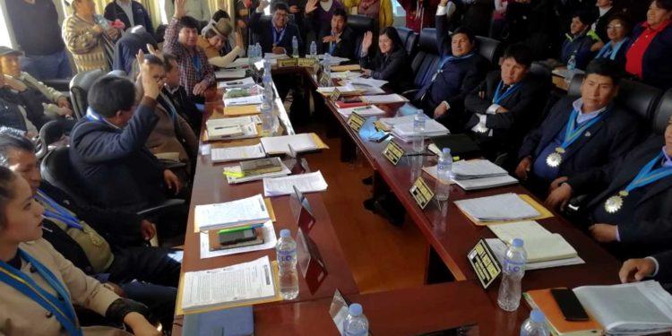 Para hoy se ha convocado a la sesión extraordinaria del consejo regional.