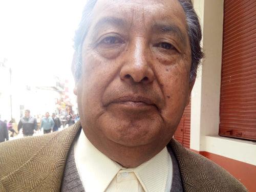 Poblador puneño, Efraín Quispe, consideró que las elecciones deben ser voluntarias.