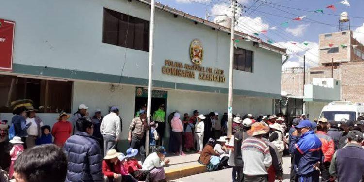 Pobladores de Azangaro piden mayor seguridad en la ciudad.