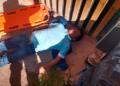 Varón NN fue abandonado en la puerta de su casa.