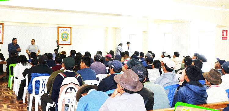 Reunión multisectorial fue convocado a raíz de los constantes accidentes de tránsito.