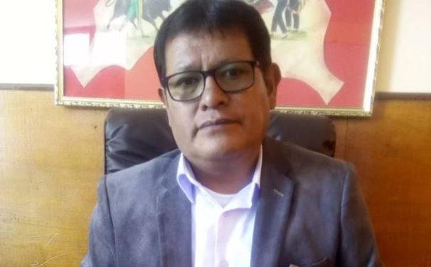 Harold Rodríguez Choque, director del Programa Regional de Riego y Drenaje.