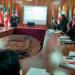 Reunión se llevó en el salón de banderas de la Municipalidad Provincial de Puno.