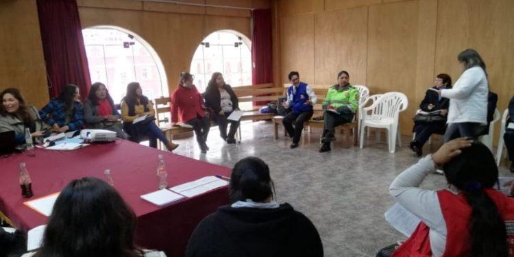 Reunión se realizó en la Municipalidad Provincial de Puno.
