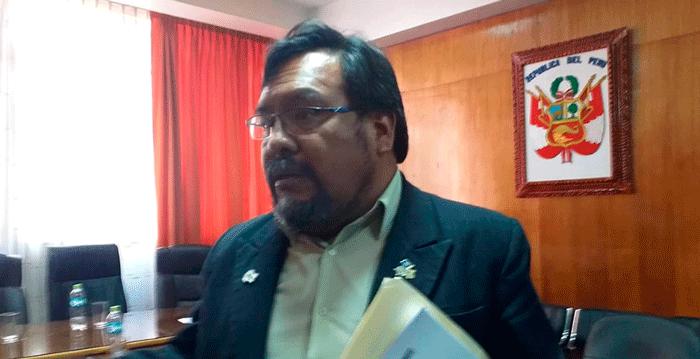 Ricardo Delgado Ramos, exgerente de Desarrollo  Social el Gobierno Regional de Puno.