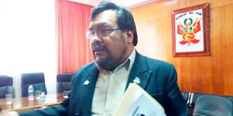 Ricardo Delgado, exgerente de Desarrollo Social del Gobierno Regional de Puno.