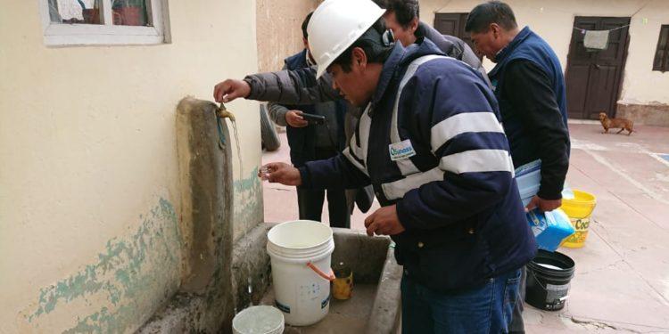 Durante dos días el servicio de agua  fue suspendido.