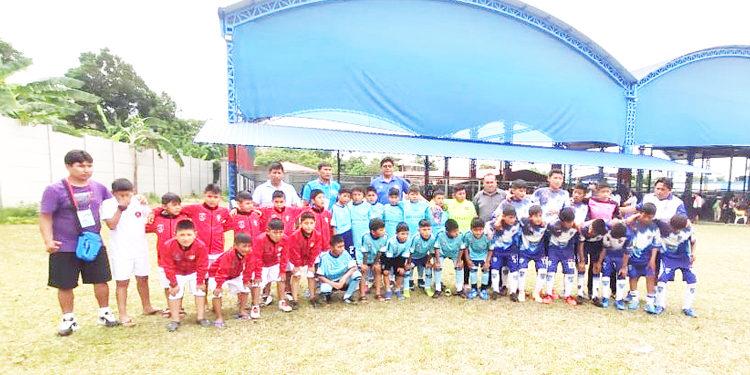 Tarapoto fue la sede de la Etapa Nacional de Creciendo con el fútbol.