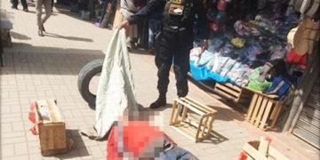 El cuerpo fue evacuado a la morgue de Juliaca.
