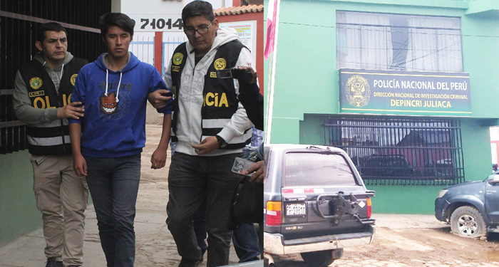 El ex enamorado  de la joven se encuentra detenido en la comisaria.