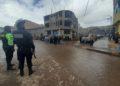Autoridades policiales intervinieron en conflicto e incluso detuvieron a algunos revoltosos.