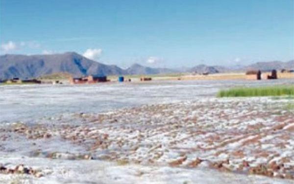 Precipitaciones líquidas y sólidas (nieve, granizo y aguanieve) de moderada a fuerte intensidad se presentarán en el altiplano puneño.