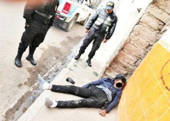 Triste. Varón agonizó tres días en el hospital de Puno y finalmente murió.