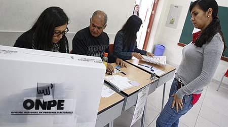 El panorama electoral es incierto en nuestra región.