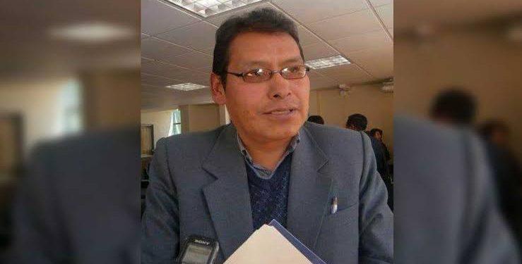 Gerente de Desarrollo Social del Gobierno Regional de Puno (GRP), Walter Paz Quispe Santos.