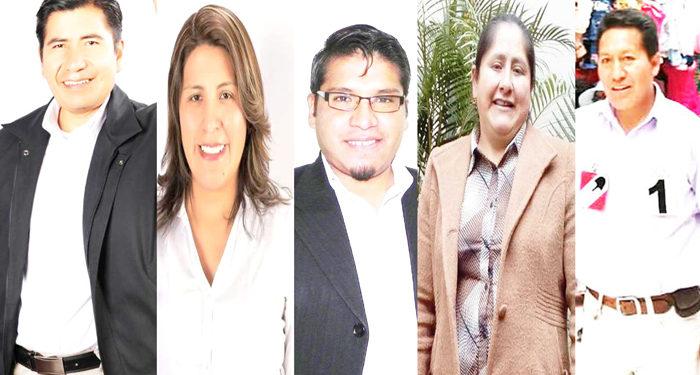 Representantes de la Región Puno.