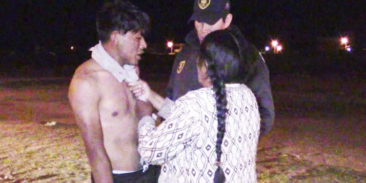 Joven de 19 años agredió a su madre.