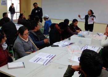 La ODPE San Román cuenta con 12,144, miembros entre titulares y suplentes.