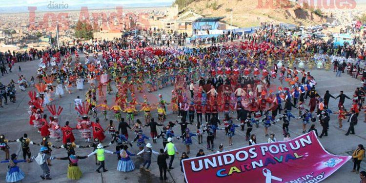 Gran lanzamiento del carnaval de la ciudad de Juliaca 2020.