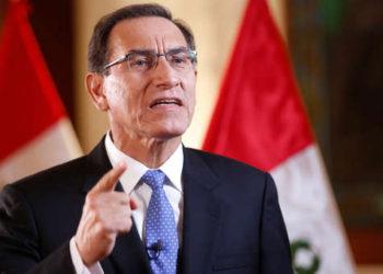 Martín Vizcarra, presidente de la República del Perú.